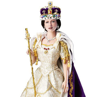 коллекционная кукла, кукла Королева, Коллекционная кукла Королева, кукла Королева Елизавета, Эштон Дрэйк, Collection doll, doll Queen, Collection doll Queen, doll Queen Elizabeth, Ashton Drake
