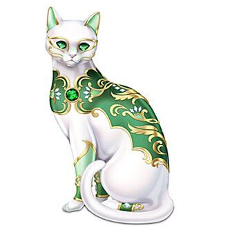 cat porcelain, collection figurine, figurine cat, hamilton collection, коллекционная фигурка, коллекционная фигурка кошка, кошка из фарфора, фигурка кошка, фигурка кошка из фарфора