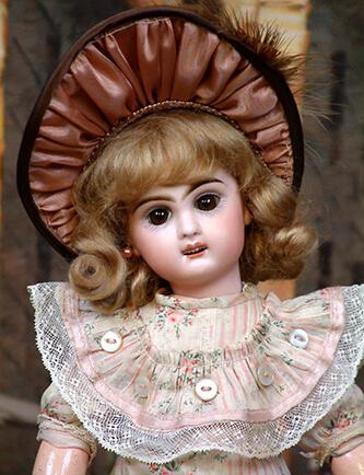 французская антикварная кукла, антикварная кукла, кукла из фарфора, Jumeau Bebe, Antique doll, Antique doll Jumeau Bebe