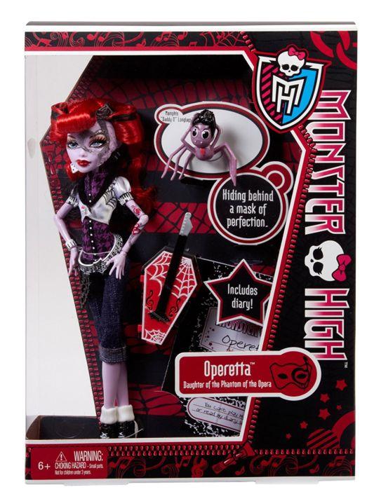 кукла, кукла Монстер Хай, куклы, Монстер Хай, Кукла Монстер Хай Оперетта, Monster High Doll, doll, dolls, Operetta Monster High, Campus Stroll Operetta