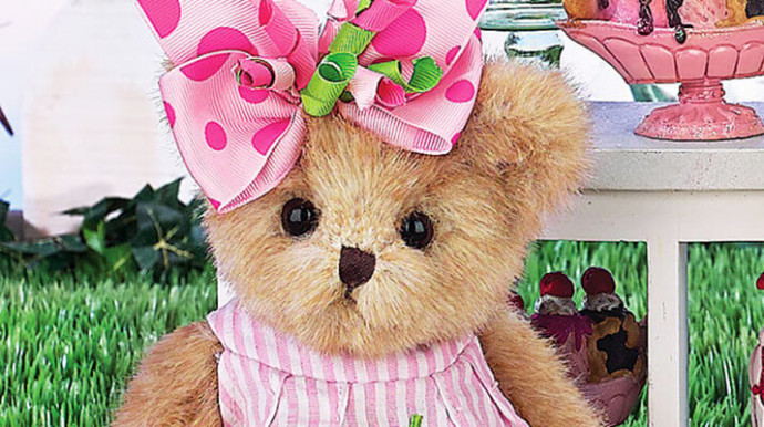 Коллекционная Мишка Тедди Сади Скупс (Collection Teddy bear Sadie Scoops Вearington bears)
